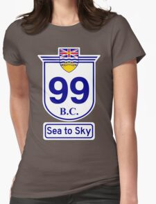 British Columbia 99 - Sea to Sky Womens Fitted T-Shirt