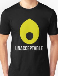 'Lemongrab UNACCEPTABLE': Adventure Time Inspired Design - Minimalist Geek Chic T-Shirt