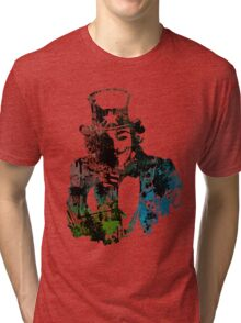 Uncle Fawkes Tri-blend T-Shirt