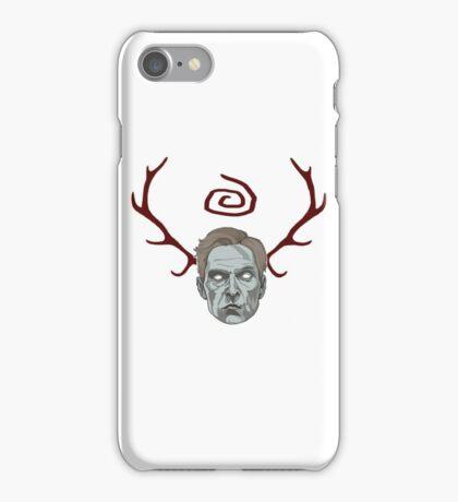 True Detective- Rust Cohle horn Fanart iPhone Case/Skin