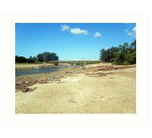 Rapid Creek ~ Northern Territory Art Print