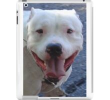 Pit Bull Pretty iPad Case/Skin