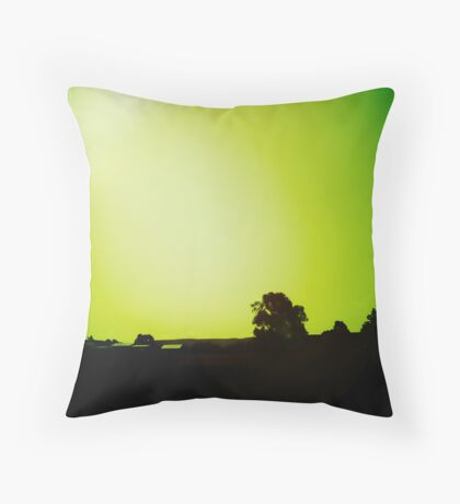 another country drive Throw Pillow