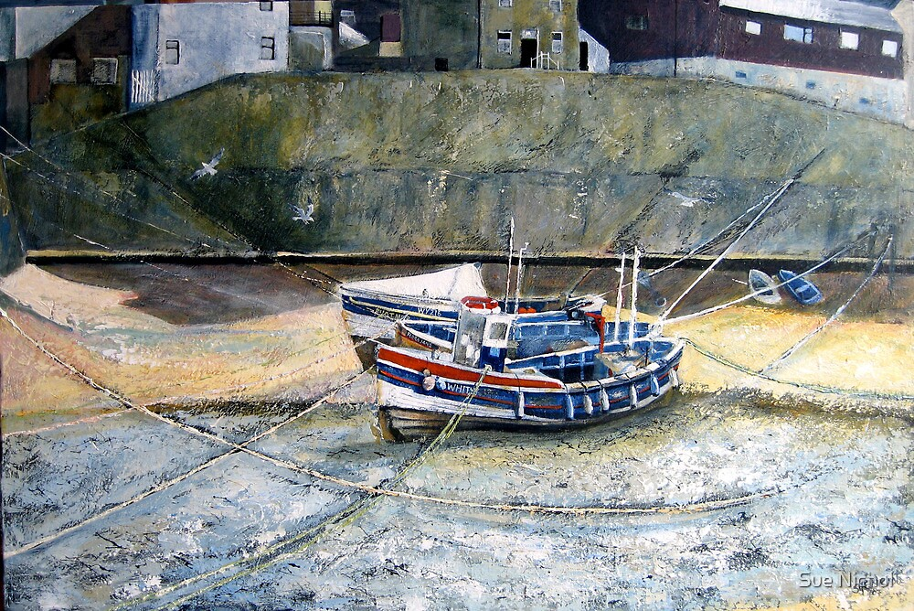 Roxby Beck, Staithes, North Yorkshire by Sue Nichol