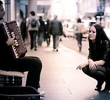 Accordionist's Groupie by Reynandi Susanto