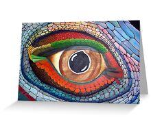 Lizard's Eye Greeting Card