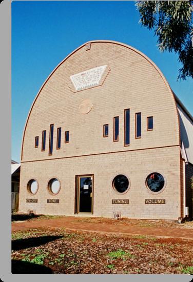 Radio Station 2BH.... Broken Hill by Juilee  Pryor
