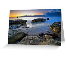 Photographers Sunset Greeting Card