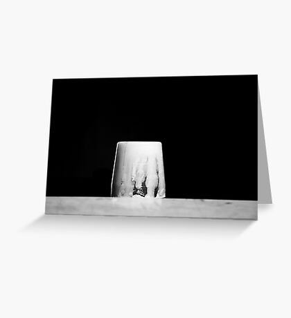 Retirement - Black and White Photography -  Greeting Card