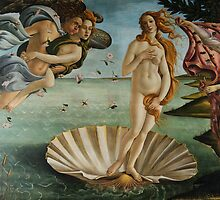 Birth of Venus - Botticelli  by IntWanderer