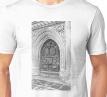 Bath England Abbey Door 2010 - Uncaptioned Unisex T-Shirt