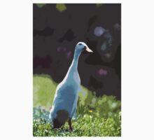 """Ducks - Canards Duck """" said Indian ! 2 """"   04 paint - Peinture (c)(h) by Olao-Olavia / Okaio Créations  canon eos 5 300 mm f/2.8  One Piece - Short Sleeve"""