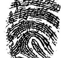music notes by Isaacnjenga