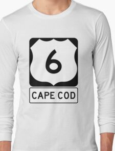 US 6 - Cape Cod Massachusetts Long Sleeve T-Shirt