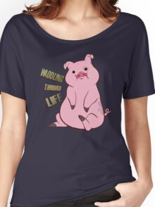 Waddling through Life Women's Relaxed Fit T-Shirt