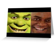 Shrek/Ainsley Greeting Card