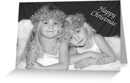 Little Angels Christmas card by Samantha Higgs