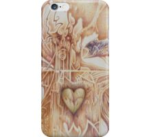 Scars of the Green Heart iPhone Case/Skin