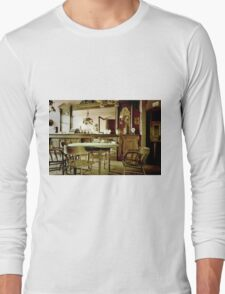 Old West Saloon Long Sleeve T-Shirt