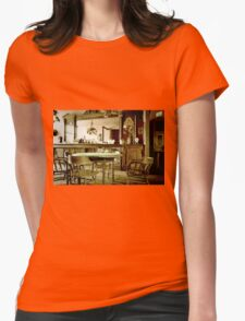 Old West Saloon Womens Fitted T-Shirt