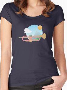 Summer Ballad Women's Fitted Scoop T-Shirt