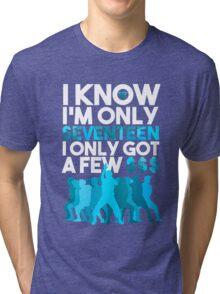 SEVENTEEN Shining Diamonds Lyrics Tri-blend T-Shirt
