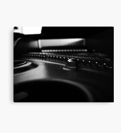 Play me a tune Canvas Print