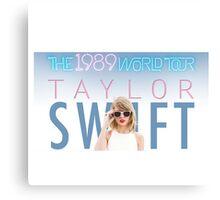 The 1989 world tour taylor swift Canvas Print
