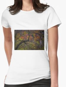 Autumn Palette Womens Fitted T-Shirt