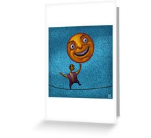 A Happy Balance Greeting Card