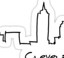 Cleveland, Ohio: II  Sticker