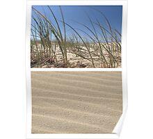 Beach Dunes - Diptych Poster