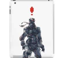Retro Solid Snake iPad Case/Skin