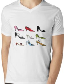 Girls love there shoes! Mens V-Neck T-Shirt