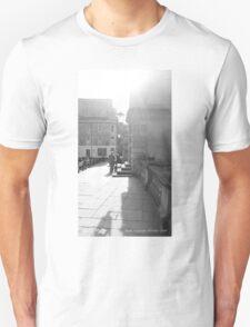 Bath England Shadows 2010 - Uncaptioned Unisex T-Shirt