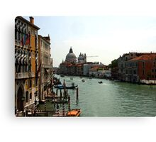 Grand Canal - Venice, Italy Canvas Print