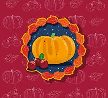 Happy Thanksgiving To You 2 by Victoria Ellis