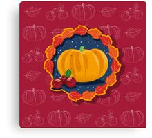 Happy Thanksgiving To You 2 Canvas Print
