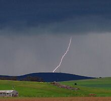 Booborowie Storm Cell by kurrawinya