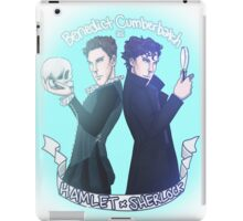 Benedict Cumberbatch as Hamlet x Sherlock iPad Case/Skin