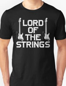 Lord of The Strings Guitar T Shirt Unisex T-Shirt