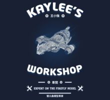 Kaylees Workshop v2 Kids Tee