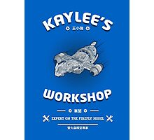Kaylees Workshop v2 Photographic Print