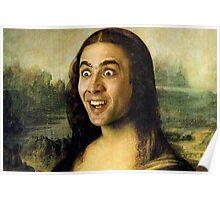Nicolas Cage - Mona Lisa Poster