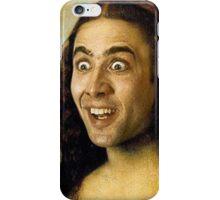 Nicolas Cage - Mona Lisa iPhone Case/Skin