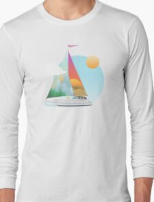 Seaside Vacation Long Sleeve T-Shirt