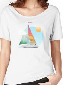 Seaside Vacation Women's Relaxed Fit T-Shirt