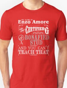 My Name is Enzo Amore-ZERO DIMES T-Shirt