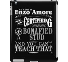 My Name is Enzo Amore-ZERO DIMES iPad Case/Skin