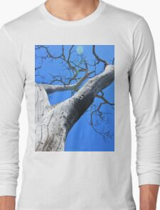 Tree of Light - Nature Background of Age Long Sleeve T-Shirt